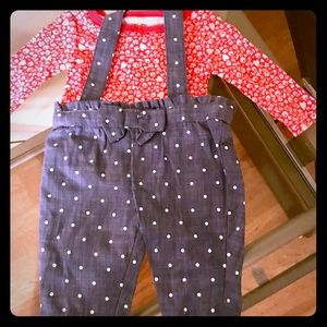 NWOT Adorable Carters Newborn Girl Outfit